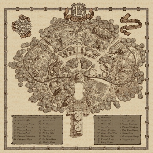 Park Map of Evermore